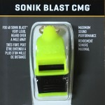 Sonik Blast Black Neon Yellow